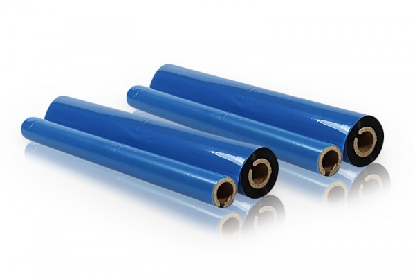 Kompatibel zu Brother PC72RF Thermo-Transfer-Rolle (2er Pack)