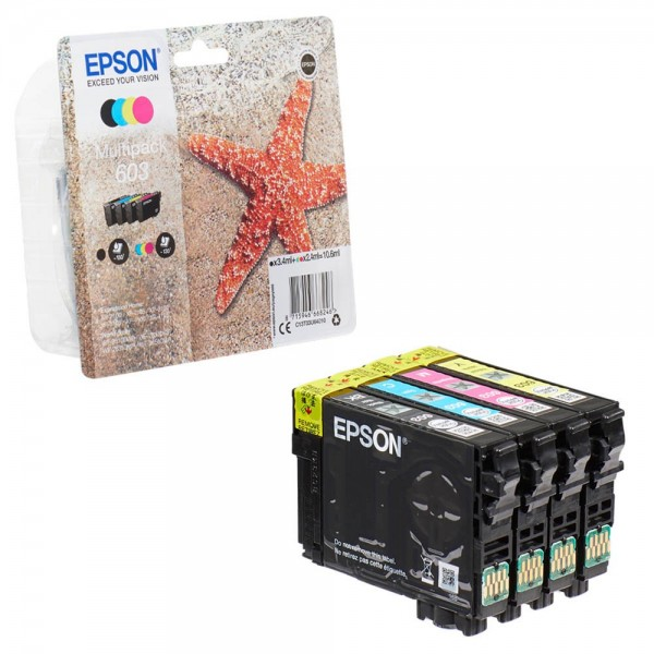 Epson 603 / C13T03U64010 Tinten Multipack CMYK (4er Set)