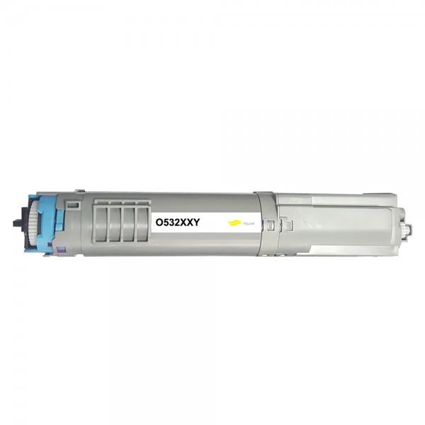 Kompatibel zu OKI 46490605 / C532 Toner Yellow