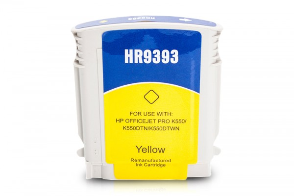 Kompatibel zu HP 88 XL / C9393AE Tinte Yellow
