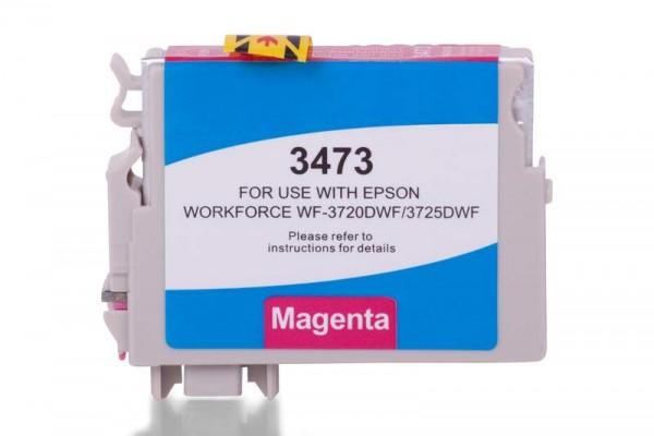 Kompatibel zu Epson 34 XL / C13T34734010 Tinte Magenta (Bulk)