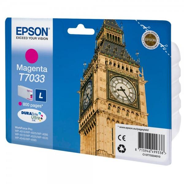 Epson T7033 / C13T70334010 Tinte Magenta