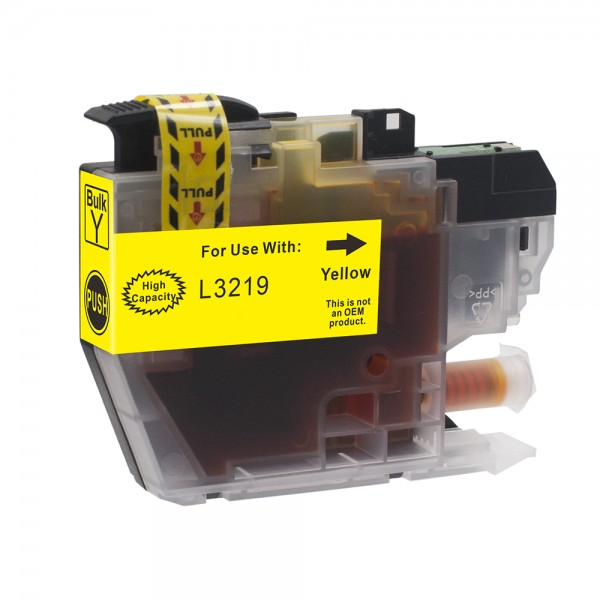 Kompatibel zu Brother LC-3219 XL Tinte Yellow (BULK)