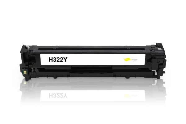 Kompatibel zu HP CE322A / 128A Toner Yellow