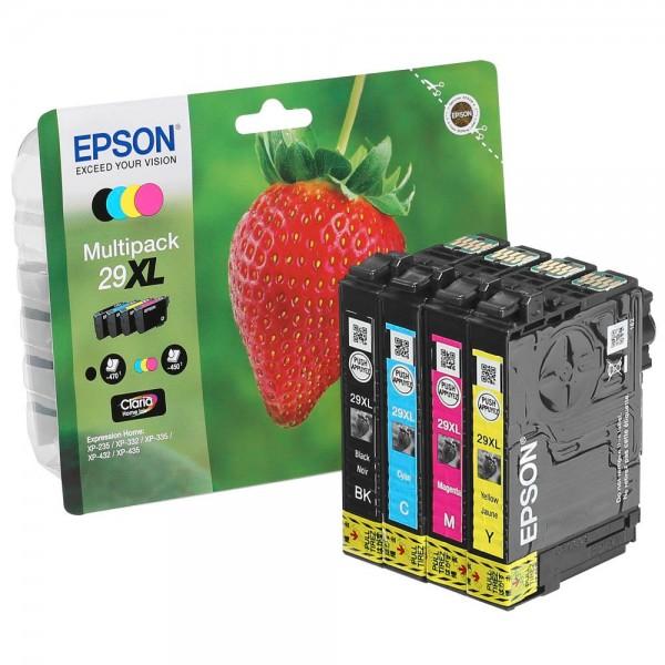 Epson 29 XL / C13T29964012 Tinten Multipack CMYK (4er Set)