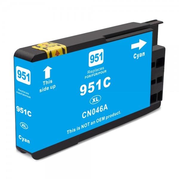 Kompatibel zu HP 951 XL / CN046AE Tinte Cyan (BULK)