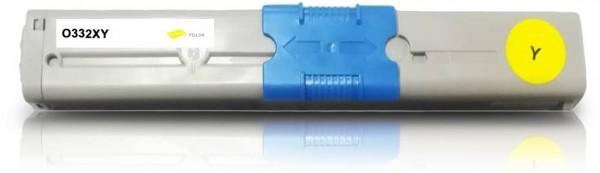Kompatibel zu OKI 46508709 / C332 Toner Yellow