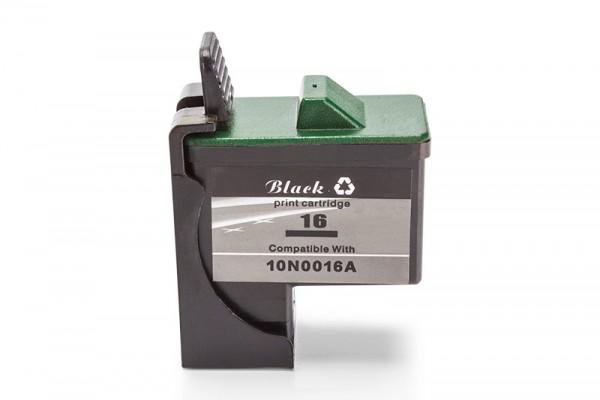 Kompatibel zu Lexmark 16 / 17 / 0010NX217E Tinte Black
