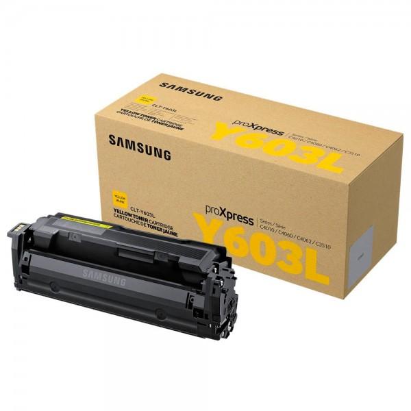 Samsung CLT-Y603L / SU557A Toner Yellow