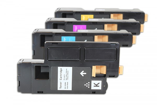 Kompatibel zu Dell 593-11140 593-11141 593-11142 593-11143 Toner Multipack CMYK (4er Set)