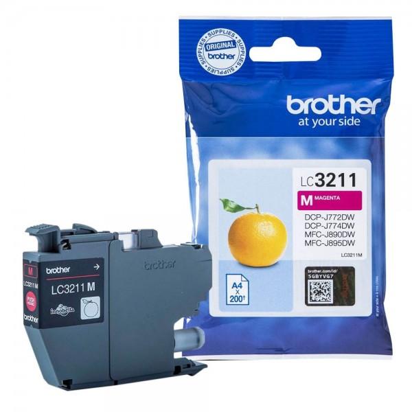 Brother LC-3211M Tinte Magenta