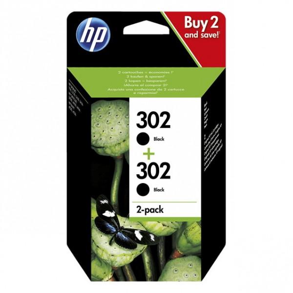 HP 302 / 1VV49AE Tinte Black (2er Pack)