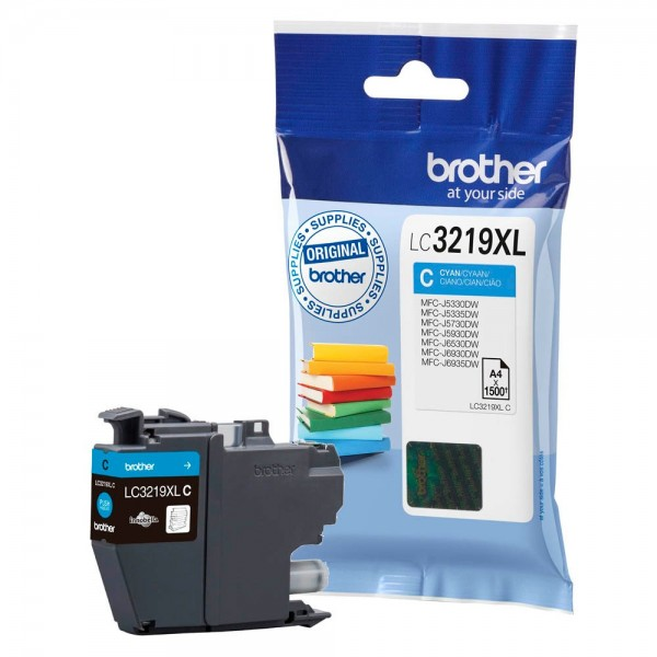 Brother LC-3219 XL Tinte Cyan