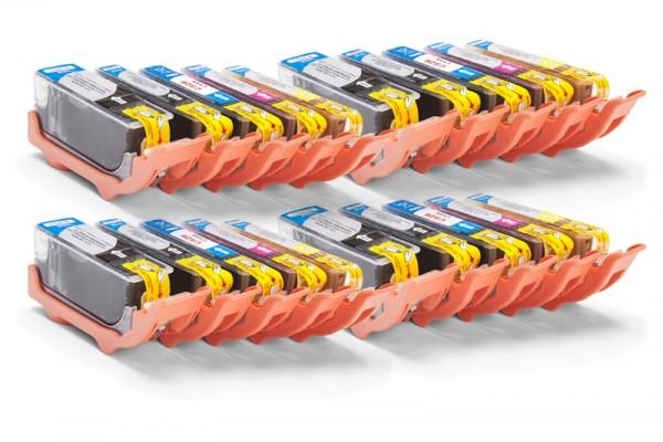 Kompatibel zu Canon PGI-525 / CLI-526 Tinten Multipack CMYK (20er Set)