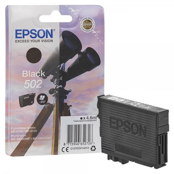 Epson 502 / C13T02V14010 Tinte Black
