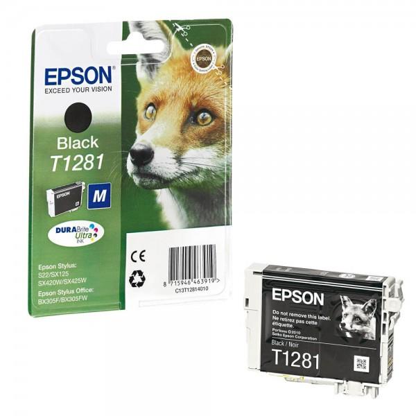Epson T1281 / C13T12814012 Tinte Black