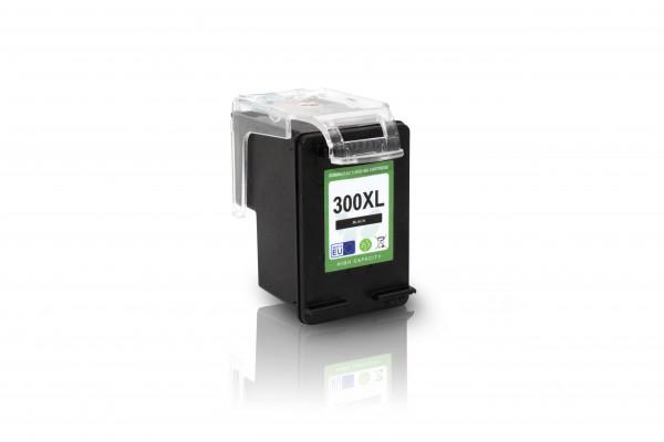 Kompatibel zu HP 300 XL / CC641EE Tinte Black mit Füllstandsanzeige (EU)