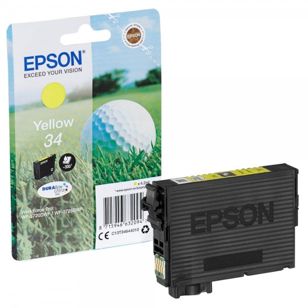 Epson 34 / C13T34644010 Tinte Yellow