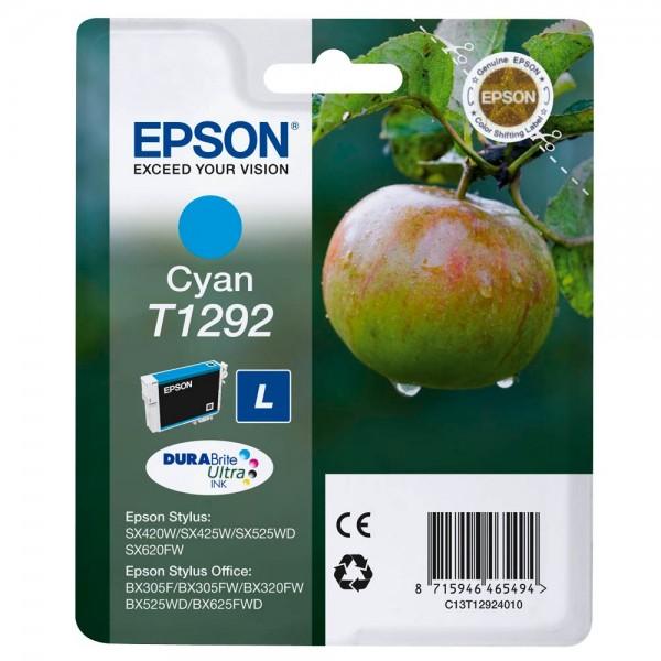 Epson T1292L / C13T12924012 Tinte Cyan