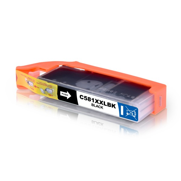 Kompatibel zu Canon CLI-581BK / 1998C001 Tinte Black XXL