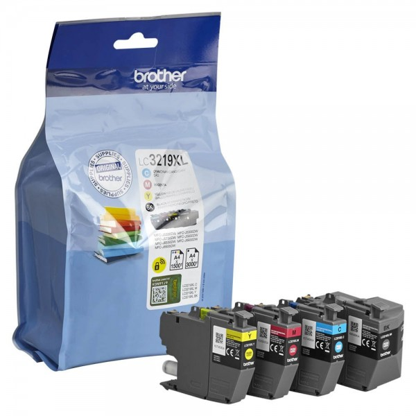 Brother LC-3219 XL VALBP Tinten Multipack CMYK (4er Set)