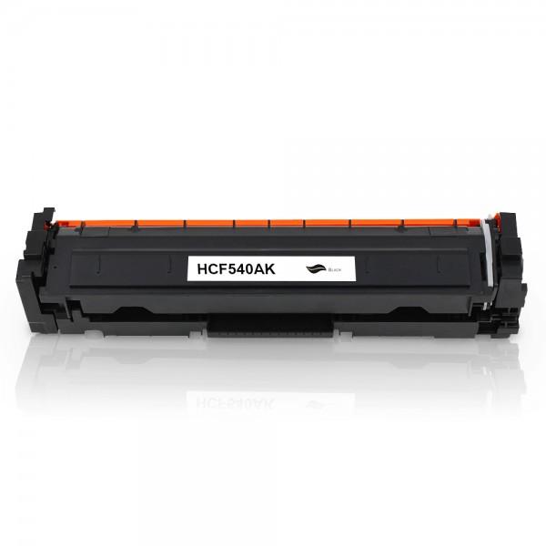 Kompatibel zu HP CF540A / 203A Toner Black