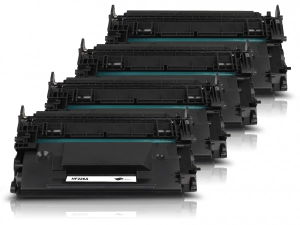 Kompatibel zu HP CF226A / 26A Toner Black (4er Pack)