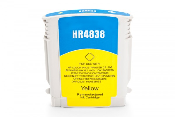 Kompatibel zu HP 11 / C4838A Tinte Yellow