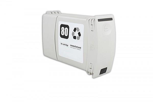 Kompatibel zu HP 80 / C4871A Tinte Black