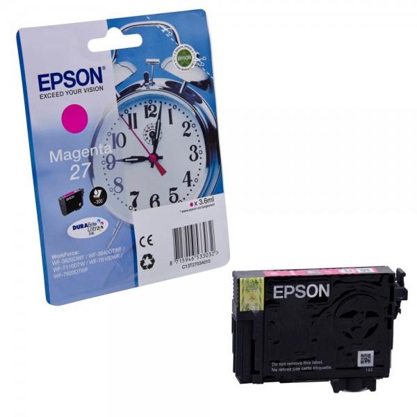 Epson 27 / C13T27034012 Tinte Magenta