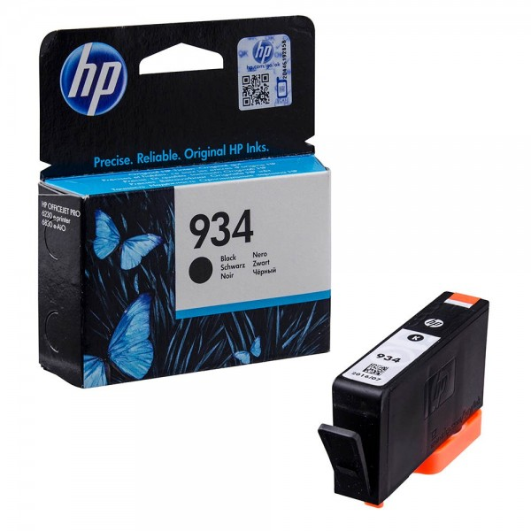 HP 934 / C2P19AE Tinte Black