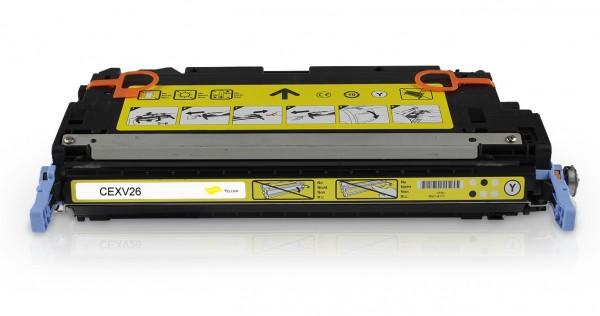 Rebuilt zu Canon CEXV26 / 1657B006 Toner Yellow