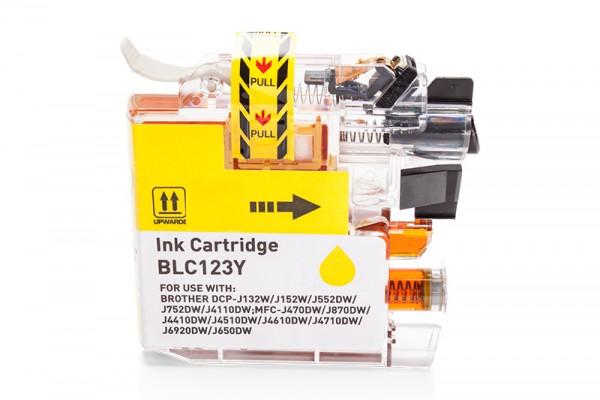 Kompatibel zu Brother LC-123Y Tinte Yellow