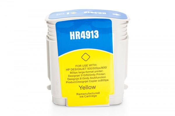 Kompatibel zu HP 82 / C4913A Tinte Yellow